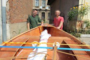 Auksarankio J. Rubinovo hobis – garaže gaminti laivus