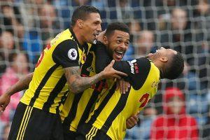 """""""Watford"""" pasaka tęsiasi: laimėję trečią kartą pavijo """"Liverpool"""""""