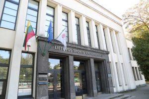 Lietuvos sporto universitetas apie LSMU jungimosi planą: jam nepritariame