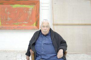 Eidamas 85-uosius metus mirė britų dailininkas H. Hodgkinas