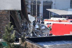 Lenkijoje dujų sprogimas sugriovė namą, yra žuvusiųjų