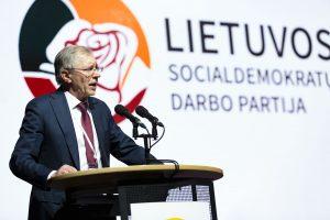 Kuriasi nauja politinė jėga: Lietuvos socialdemokratų darbo partija