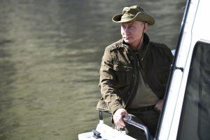 V. Putinas vėl atostogavo Sibire