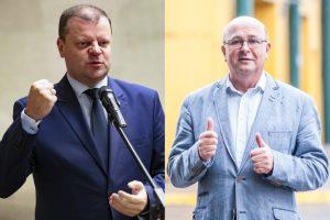 V. Matijošaitis prezidento rinkimuose galėtų tikėtis S. Skvernelio paramos