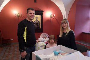 Oskaras iš Mastaičių – 200-asis Kauno rajone šiemet gimęs kūdikis