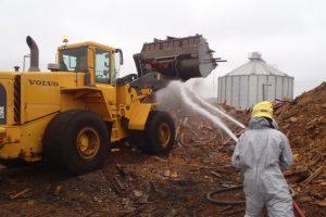 Radviliškyje degusios pjuvenos užima 10 tūkst. kv. metrų plotą