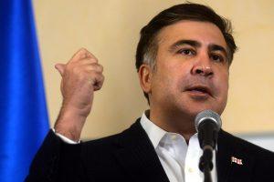 M. Saakašvilis atsistatydina iš Odesos gubernatoriaus posto