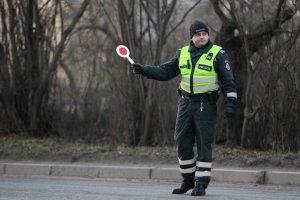 Išgėrusio dviratininko kelionę sustabdė pareigūnai