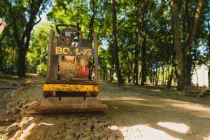 Ramybės parke – įsibėgėjantys tvarkymo darbai
