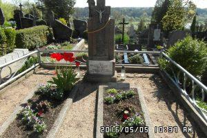 J. Galvydžio-Bykausko kapas Raudondvaryje – kultūros vertybė