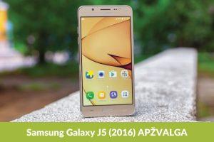 """""""Galaxy J5"""": kodėl verta įsigyti?"""