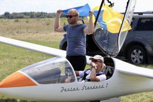Lietuvos sklandytojai pasiekė Ukrainą – įveiktas neįmanomas atstumas