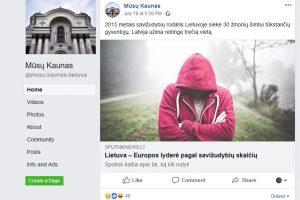 Per meilę Kaunui – propaganda