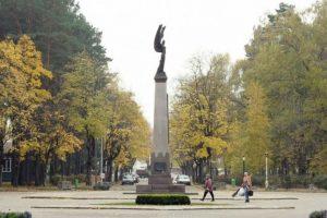 Alytuje – nesutarimai dėl paminklo partizanams vietos