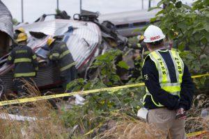 Pensilvanijoje per traukinio avariją sužeisti 33 žmonės