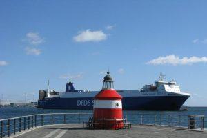 """""""DFDS Seaways"""" keltui neleista išplaukti iš Švedijos"""