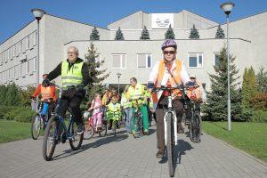 Širdies dieną Klaipėdoje – žygis dviračiais