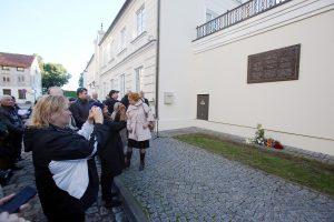 Klaipėdoje įamžintas žydų rabino atminimas