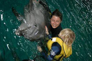 Delfinų terapiją Klaipėdoje plėtos trys institucijos