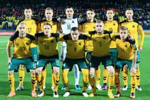 Lietuvos futbolo rinktinė iškrito iš FIFA reitingo šimtuko