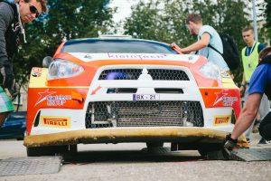 """""""300 Lakes Rally"""" kvalifikacijos nugalėtojas: tikiuosi, kad nugalėsiu"""