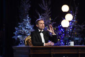 """Klaipėdoje – įspūdingas """"Laisvės TV"""" šou su A. Tapinu"""