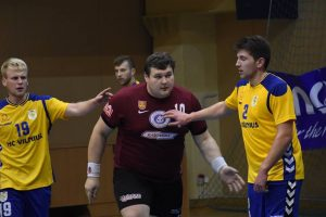 Savaitgalį Klaipėdoje – Baltijos rankinio lygos kovos
