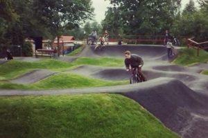 Danės skvere – dviračių parkas
