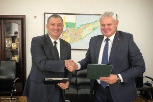 Klaipėda ir Potis sutarė dėl tolesnio bendradarbiavimo