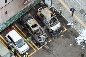 Japonijoje per du sprogimus viename parkų žuvo žmogus