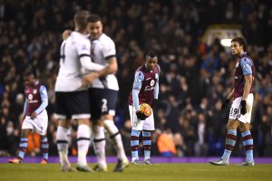 "Anglijos futbolo čempionate ""Tottenham Hotspur"" įveikė ""Aston Villa"" futbolininkus"