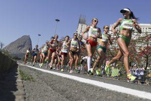 Olimpietė D. Lobačevskė laimėjo Meksiko maratoną