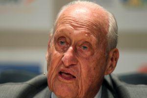 Mirė J. Havelange, korupcijos skandalo nuverstas FIFA karalius