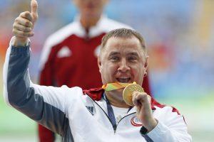 Latvis disko metikas iškovojo parolimpiados auksą