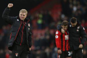"""""""AFC Bournemouth"""" neįtikėtinai išplėšė pergalę prieš """"Liverpool"""""""