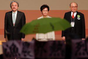 Honkongo lydere išrinkta Pekino favoritė