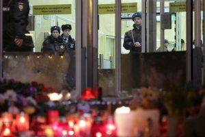 Rusijos policija ieško galimų Sankt Peterburgo sprogdintojo bendrininkų