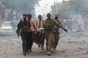 Somalio sostinėje per sprogimą žuvo 5, sužeista 10 žmonių