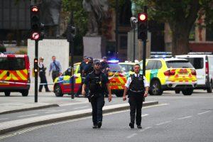 Britų policija: per incidentą prie parlamento išvengta mirtinų sužalojimų