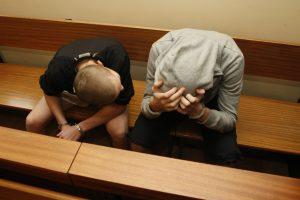 Klaipėdoje į teisiamųjų suolą sėdo vaikai
