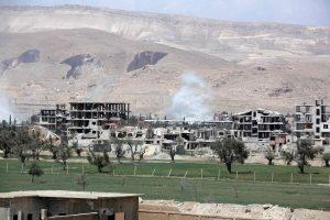 Prancūzija neigia bombardavusi Sirijos oro pajėgų bazę