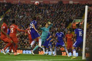 """Anglijos futbolo čempionate – """"Liverpool"""" ir """"Chelsea"""" lygiosios"""
