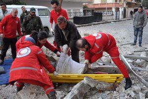 Patvirtinta: Sirijoje buvo panaudoti cheminiai ginklai