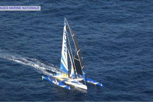 Buriuotojų rekordas: prancūzas vienas apiplaukė Žemę per 42 paras