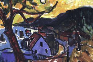 P. Domšaičio galerijoje – E. Mollenhauerio tapybos paroda