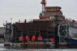 Laivų statytojai pastatė 8 baržas