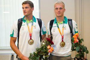 R. Maščinskas ir S. Ritter taip pat iškovojo olimpinį kelialapį