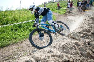 K. Sosna kalnų dviratininkių lenktynėse finišavo trečia