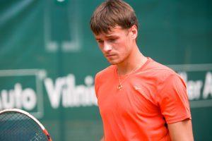 D. Šakinis įveikė pirmąjį varžovą teniso turnyre Latvijoje