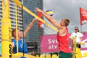 Paaiškėjo Europos jaunimo paplūdimio tinklinio čempionate dalyvausiantys lietuviai